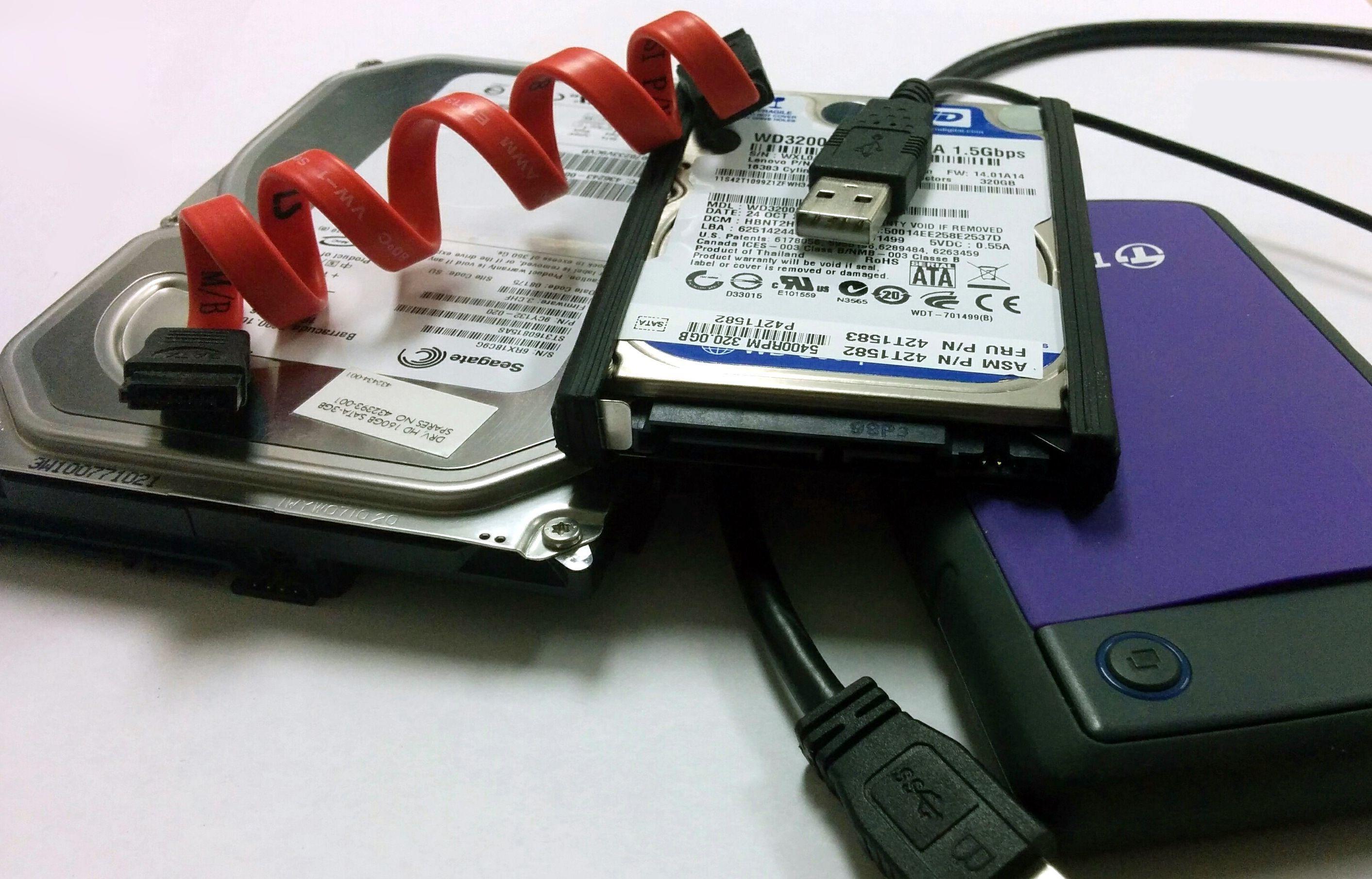 Как из hdd диска сделать внешний диск 412